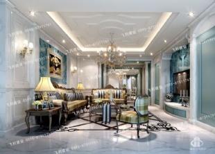 大理石内装,客厅装修,白色室内装潢,